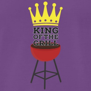King of the Grill Camisetas - Camiseta premium hombre
