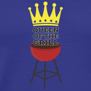 Queen of the grill Camisetas - Camiseta premium hombre