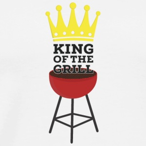 King of the Grill Koszulki - Koszulka męska Premium