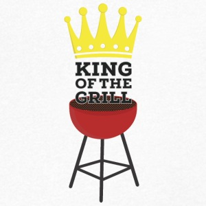 King of the Grill T-Shirts - Men's V-Neck T-Shirt