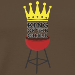 King of the Grill Tee shirts - T-shirt Premium Homme