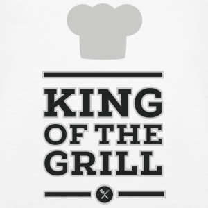 King of the Grill Topy - Tank top damski Premium
