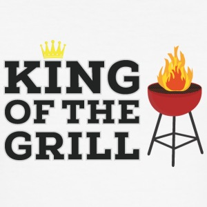 King of the Grill Tee shirts - Tee shirt près du corps Homme