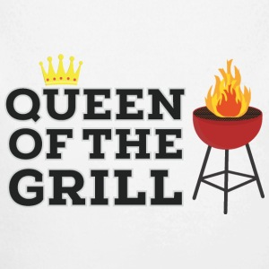 Queen of the grill Baby Bodys - Baby Bio-Langarm-Body