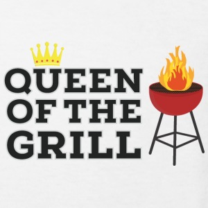 Queen of the grill Shirts - Kids' Organic T-shirt
