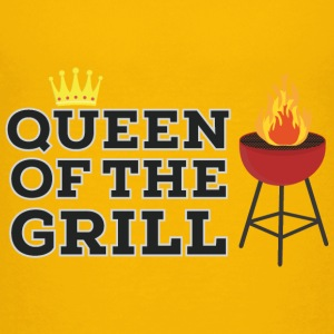 Queen of the grill Shirts - Teenage Premium T-Shirt