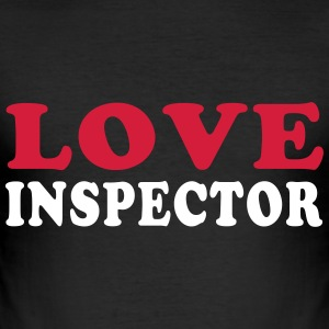 LOVE INSPECTOR T-Shirts - Men's Slim Fit T-Shirt