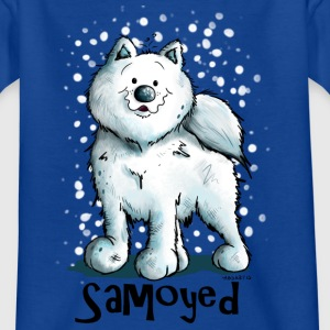 Happy Samoyed Shirts - Kids' T-Shirt