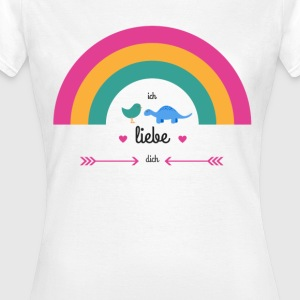 i love you  - Frauen T-Shirt