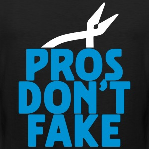 pros don't fake Tank Tops - Männer Premium Tank Top