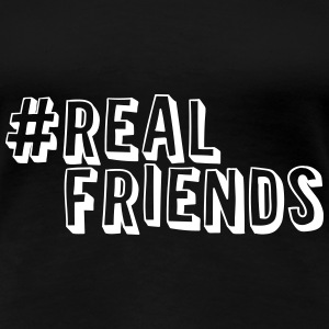 #realfriends T-Shirts - Frauen Premium T-Shirt