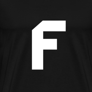 Letter F by FurkanErol - Men's Premium T-Shirt