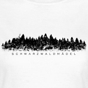 Schwarzwaldmädel Schwarzwald Vintage (Schwarz)