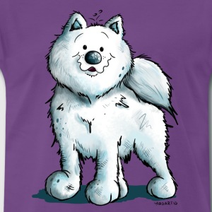 Sweet Samoyed Dog T-Shirts - Men's Premium T-Shirt