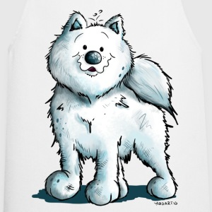 Sweet Samoyed Dog  Aprons - Cooking Apron