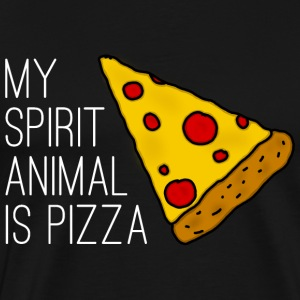 My Spirit Animal Is Pizza T-Shirts - Männer Premium T-Shirt