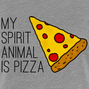 My Spirit Animal Is Pizza T-Shirts - Frauen Premium T-Shirt