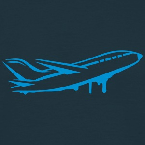 An airplane T-Shirts - Men's T-Shirt