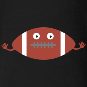 American Football Baby Bodys - Baby Bio-Kurzarm-Body