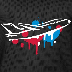 An airplane Graffiti Sports wear - Men's Basketball Jersey
