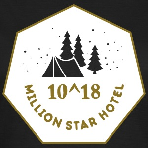 Camping: 10^18 million star hotel Tee shirts - T-shirt Femme