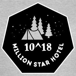 Camping: 10^18 million star hotel T-skjorter - T-skjorte for kvinner