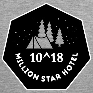 Camping: 10^18 million star hotel Tanktops - Mannen Premium tank top