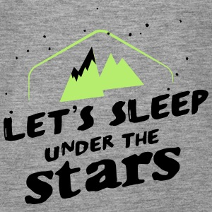 Camping: let's sleep under the stars Toppe - Dame Premium tanktop