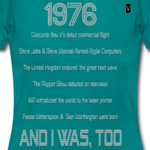1976 40th Birthday - Women's T-Shirt