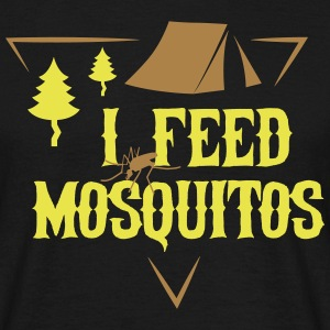 Camping: I feed mosquitos Tee shirts - T-shirt Homme