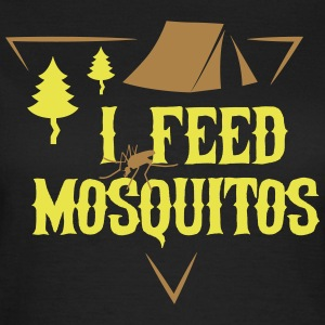 Camping: I feed mosquitos Tee shirts - T-shirt Femme