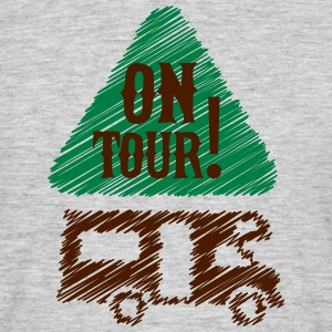 Camping - on tour! T-shirts - Mannen T-shirt