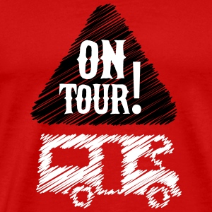 Camping - on tour! T-shirts - Mannen Premium T-shirt