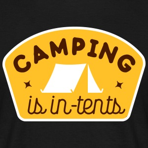 camping is in-tents T-Shirts - Men's T-Shirt