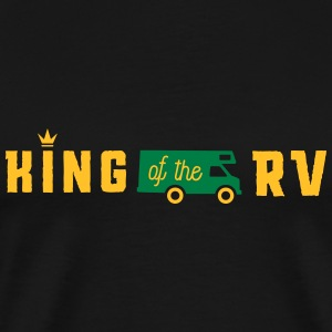 camping king of the rv T-shirts - Herre premium T-shirt