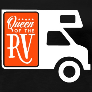 Camping: queen of the rv T-shirts - Dame premium T-shirt