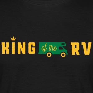 camping king of the rv Tee shirts - T-shirt Homme