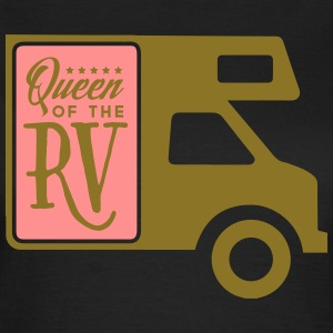 Camping: queen of the rv Tee shirts - T-shirt Femme