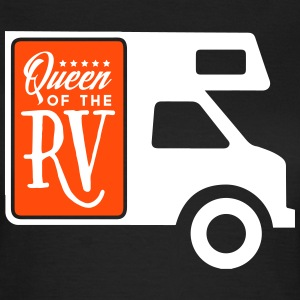 Camping: queen of the rv T-shirts - Vrouwen T-shirt