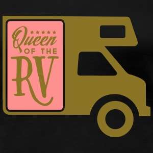Camping: queen of the rv T-shirts - Vrouwen Premium T-shirt