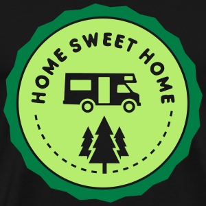 camping: home sweet home Tee shirts - T-shirt Premium Homme