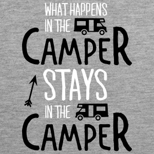 what happens in the camper... Tank Tops - Tank top premium hombre