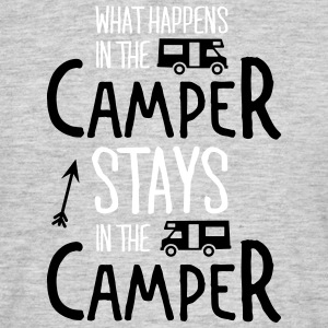 what happens in the camper... T-Shirts - Männer T-Shirt