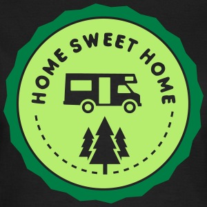 camping: home sweet home T-shirts - Vrouwen T-shirt