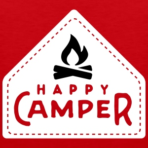 happy camper Singlets - Premium singlet for menn
