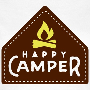 happy camper T-Shirts - Frauen T-Shirt