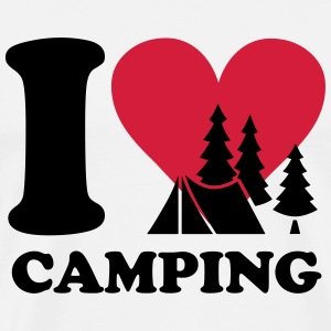 i love camping Tee shirts - T-shirt Premium Homme