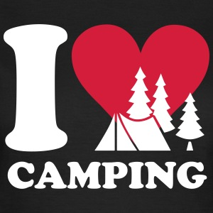 i love camping T-Shirts - Frauen T-Shirt