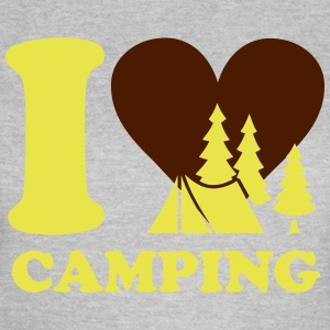 i love camping Tee shirts - T-shirt Femme