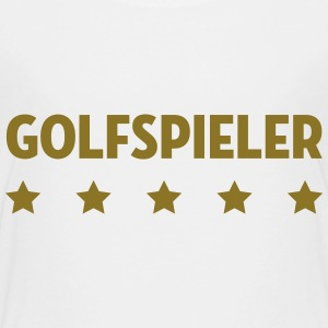 Golf Golfspieler Golfspielerin Green Club Sport T-Shirts - Teenager Premium T-Shirt